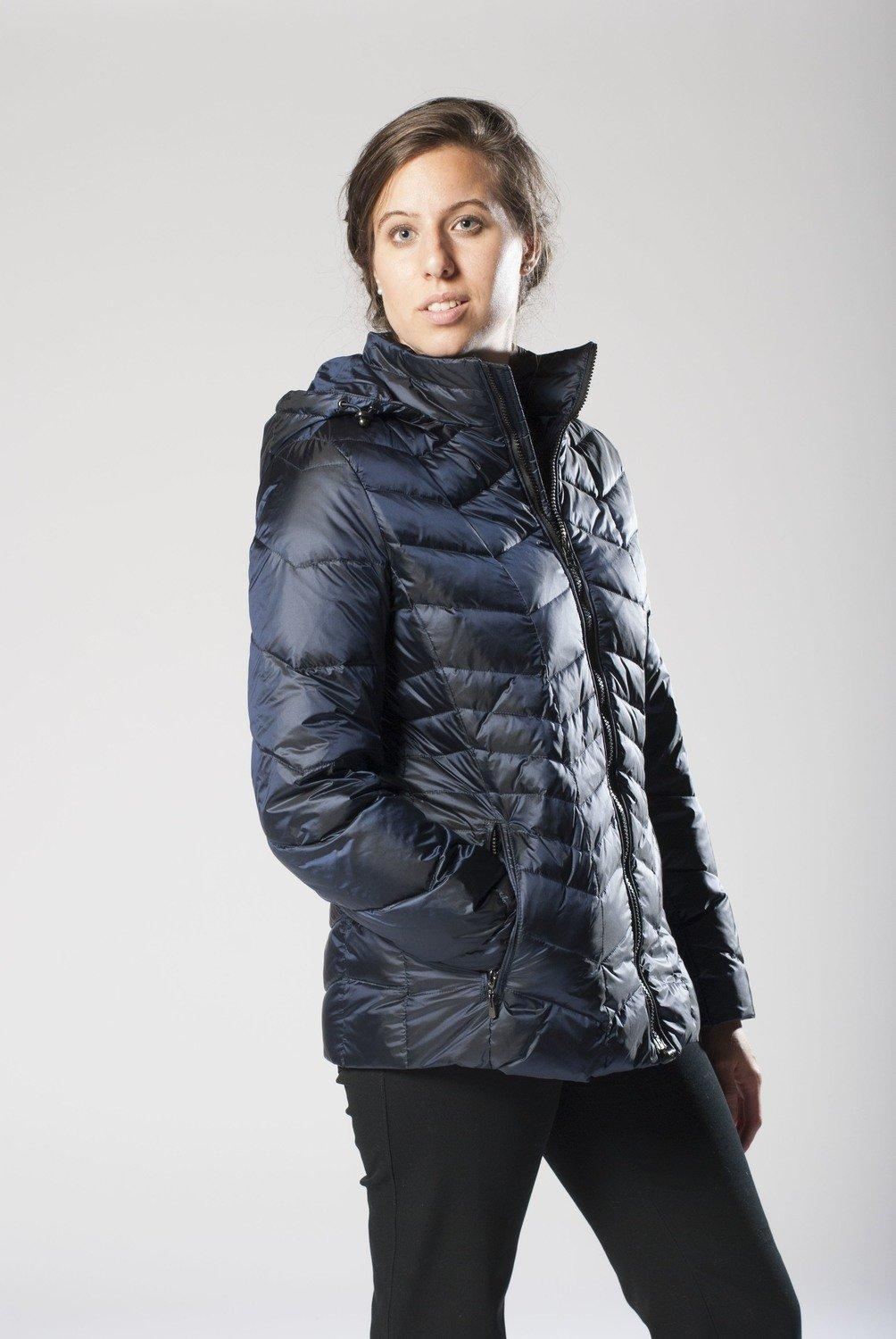 Jackets with magnetic zipper